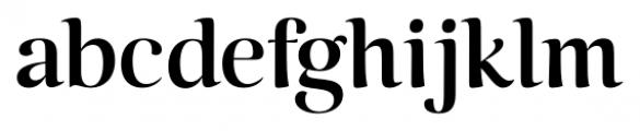 Caturrita Display Medium Font LOWERCASE