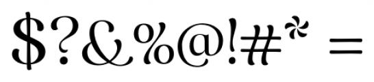 Caturrita Display Regular Font OTHER CHARS