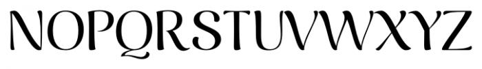 Caturrita Display Regular Font UPPERCASE