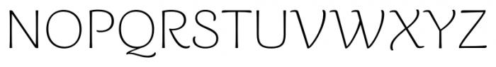 Caturrita Thin Font UPPERCASE