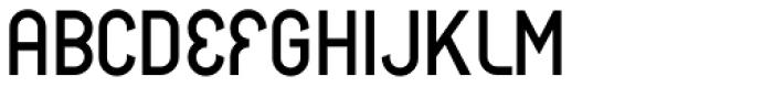 CA BND Alternate Font UPPERCASE