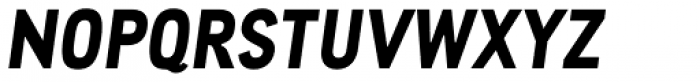 CA Cula ExtraBold Italic Font UPPERCASE