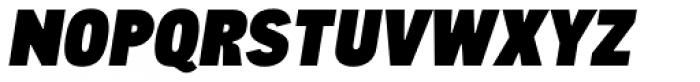CA Cula Superfat Italic Font UPPERCASE