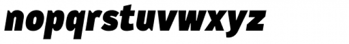 CA Cula Superfat Italic Font LOWERCASE