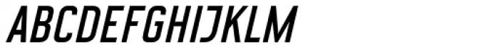 CA Geheimagent Italic Font UPPERCASE