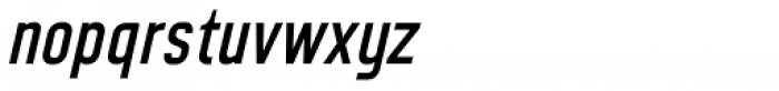 CA Geheimagent Italic Font LOWERCASE