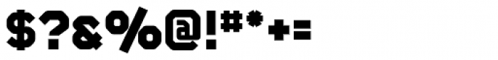 CA Monodon UltraBold Font OTHER CHARS
