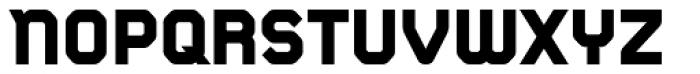 CA Monodon UltraBold Font UPPERCASE