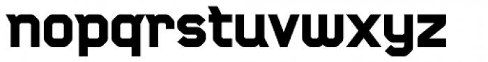 CA Monodon UltraBold Font LOWERCASE