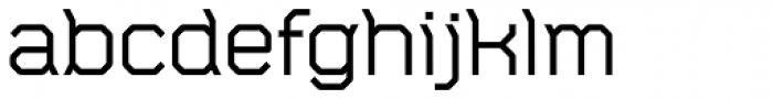 CA Monodon Font LOWERCASE