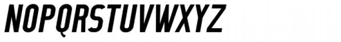 CA No Dr. Medium Italic Font UPPERCASE