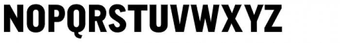 CA Normal Heavy Font UPPERCASE