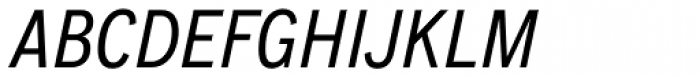 CA Normal Italic Font UPPERCASE