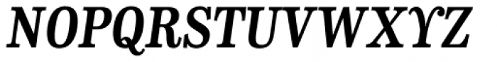 CA Normal Serif Bold Italic Font UPPERCASE