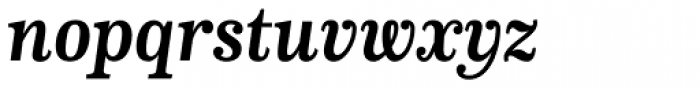 CA Normal Serif Bold Italic Font LOWERCASE