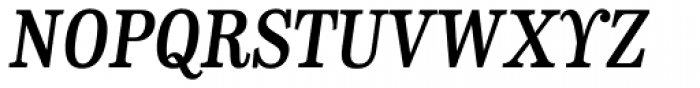 CA Normal Serif SemiBold Italic Font UPPERCASE