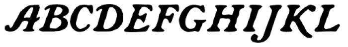 CA Rough Rider Font UPPERCASE