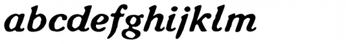CA Rough Rider Font LOWERCASE