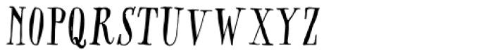 CA Rusty Nail Font UPPERCASE