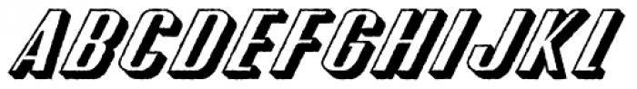 CA Spy Royal Shadow Raw Font UPPERCASE