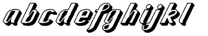CA Spy Royal Shadow Raw Font LOWERCASE