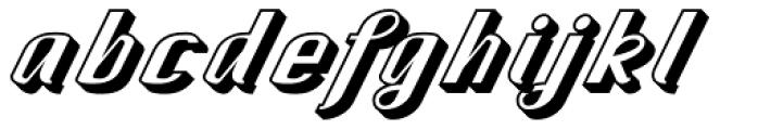 CA Spy Royal Shadow Font LOWERCASE