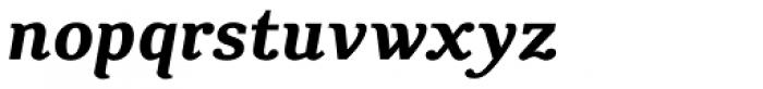 CA Texteron Bold Italic Font LOWERCASE
