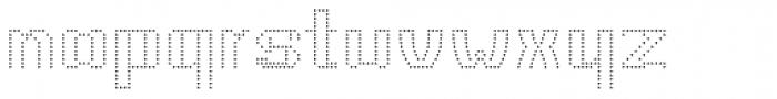 CA Viva Las Vegas Night UltraLight Font LOWERCASE