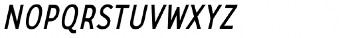 CA Zaracusa Narrow Alt Italic Font UPPERCASE