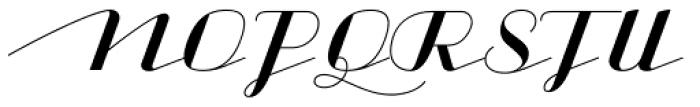 CACapoli-Regular Font UPPERCASE