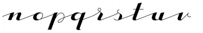 CACapoli-Regular Font LOWERCASE