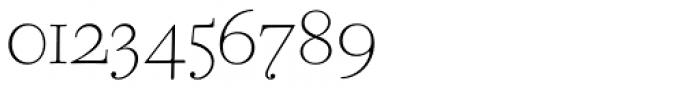 CAL Bodoni Ferrara Origin Thin Font OTHER CHARS