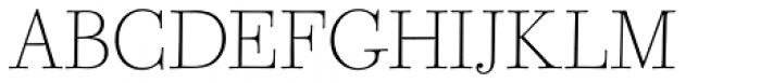 CAL Bodoni Ferrara Origin Thin Font UPPERCASE