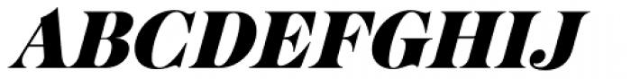 Cabernet JF Pro Italic Font UPPERCASE