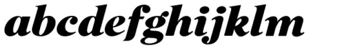 Cabernet JF Pro Italic Font LOWERCASE