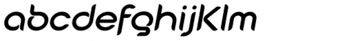 Cabourg Bold Oblique Font LOWERCASE