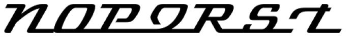 Cabriolet Font UPPERCASE