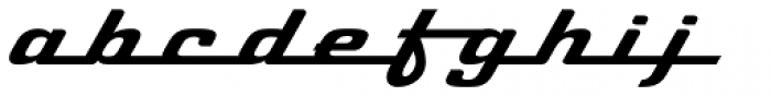 Cabriolet Font LOWERCASE