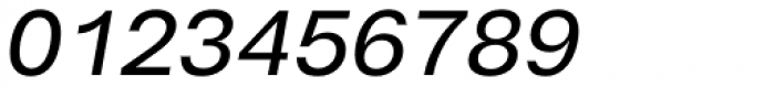Cabrion Medium Italic Font OTHER CHARS