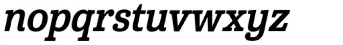 Cabrito Con Bold Italic Font LOWERCASE