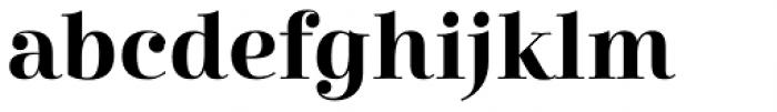 Cabrito Didone Bold Font LOWERCASE