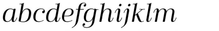 Cabrito Didone Ext Regular Italic Font LOWERCASE
