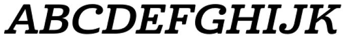 Cabrito Ext Bold Italic Font UPPERCASE