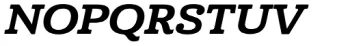 Cabrito Ext ExtraBold Italic Font UPPERCASE