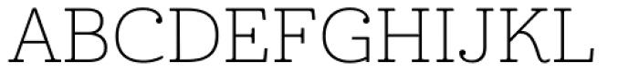 Cabrito Ext Thin Font UPPERCASE