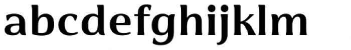 Cabrito Flare Extended Ex Bold Font LOWERCASE