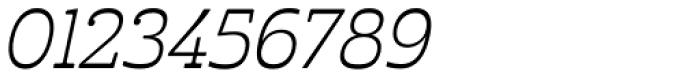 Cabrito Inverto Book Italic Font OTHER CHARS