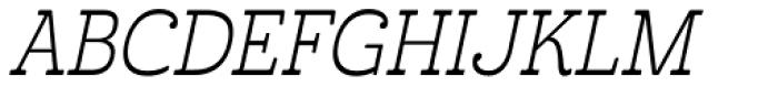 Cabrito Inverto Con Book Italic Font UPPERCASE