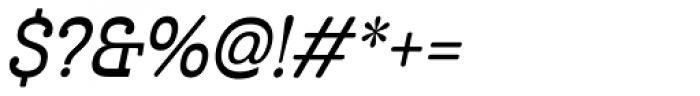 Cabrito Inverto Con Demi Italic Font OTHER CHARS