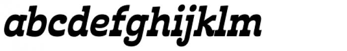Cabrito Inverto Con ExtraBold Italic Font LOWERCASE